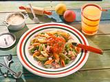 Penne Tricolori in bunter Tomatensoße Rezept