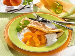 Pfannkuchen mit Aprikosenkompott (Diabetiker) Rezept