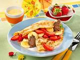 Pfannkuchen mit fruchtiger Füllung Rezept