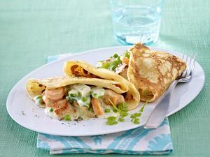 Pfannkuchen-Omelett mit Frühlingsgemüse Rezept