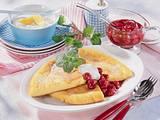 Pfannkuchen zu Vanille Kirsch-Kompott Rezept