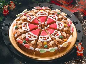 Pfefferkuchen-Weihnachtsmänner Rezept