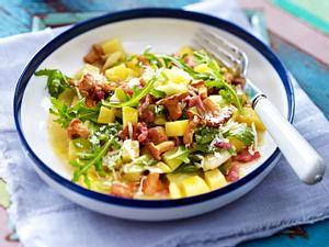 Pfifferlings-Kartoffel-Ragout Rezept