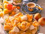 Pfirsich-Blechkuchen Rezept