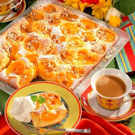 Pfirsich-Blechkuchen (Diabetiker) Rezept