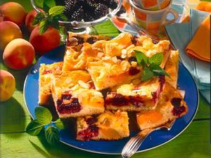 Pfirsich-Brombeer Kuchen (Diabetiker) Rezept