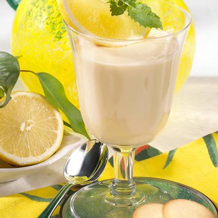 Pfirsich-Joghurt mit Kokos Rezept