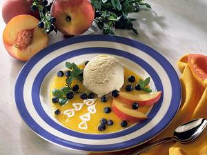 Pfirsich-Joghurt-Parfait Rezept