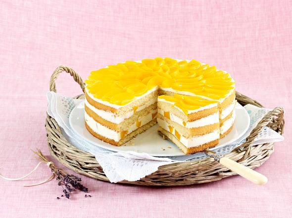 Pfirsich-Lavendel-Torte Rezept