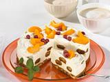 Pfirsich-Malakoff-Torte Rezept