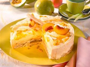 Pfirsich-Maracuja-Torte Rezept