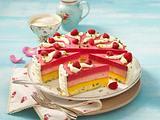 Pfirsich-Melba-Torte Rezept