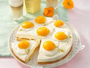 Pfirsich-Spiegelei-Torte Rezept