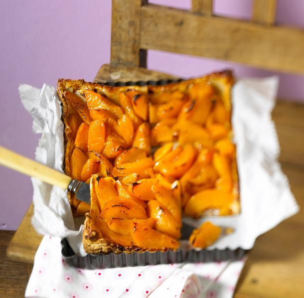 Pfirsich-Tarte Rezept