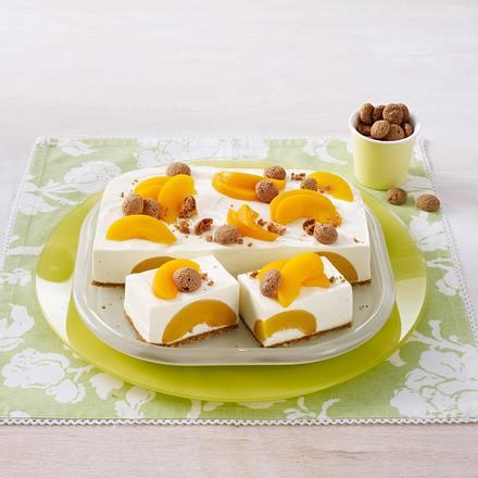 Pfirsich-Ziegenkäse-Torte Rezept