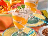 Pfirsich-Zimt-Becher Rezept
