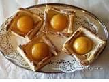 Pfirsiche in Blätterteig Rezept