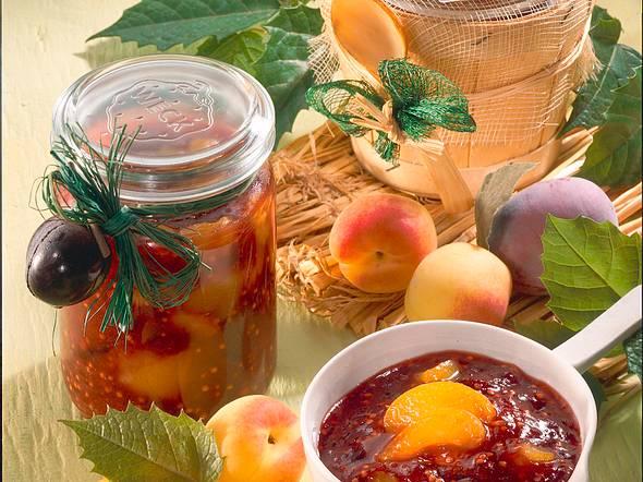 Pflaumen-Aprikosen-Chutney Rezept