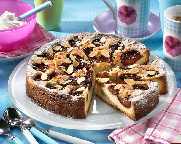 Pflaumen-Mandel-Kuchen Rezept