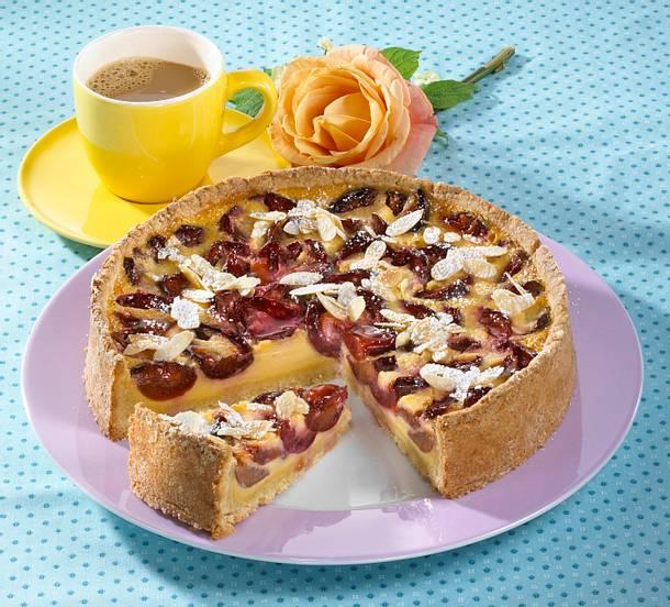 Pflaumen-Milchmädchen-Kuchen Rezept