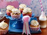 Pflaumen-Muffins mit Baisertuffs Rezept