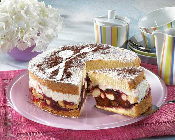 Pflaumen-Tiramisu-Torte Rezept