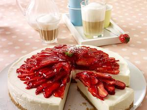 Philadelphia-Erdbeer-Torte (Scheiben) Rezept