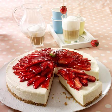 Philadelphia-Erdbeer-Torte (Würfel) Rezept