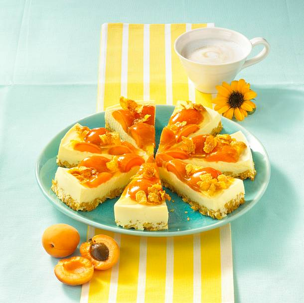 Philadelphia-Torte mit Aprikosen Rezept