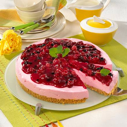 philadelphia torte mit beeren rezept lecker. Black Bedroom Furniture Sets. Home Design Ideas