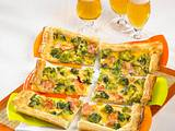 Pikanter Blätterteig-Brokkoli-Kuchen Rezept