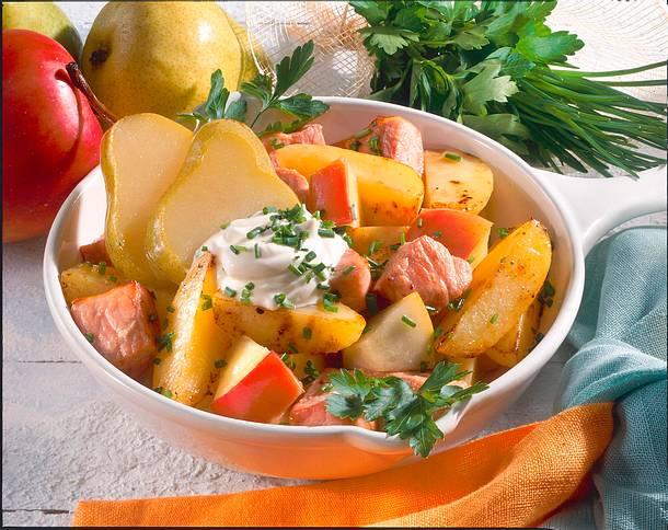 Pikanter Kartoffeltopf Rezept