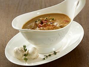 Pilzsoße (für Pasta oder Schnitzel) Rezept