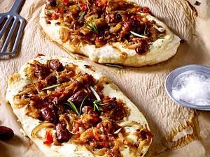Pissaladière mit Oliven - Pizza aus der Provence Rezept