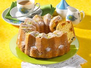 Pistazien-Aprikosen-Napfkuchen Rezept