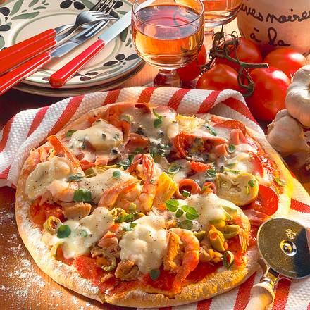 Pizza Allerlei Rezept