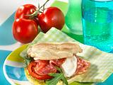 Pizza-Burger Rezept