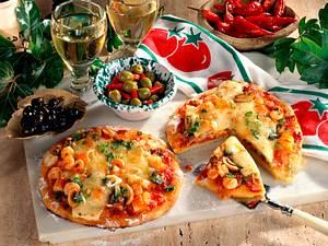 Pizza Frutti di Mare Rezept