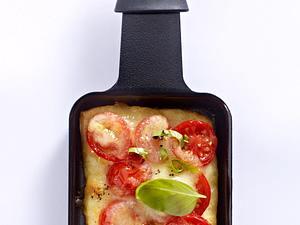Pizza-Margherita-Pfännchen Rezept