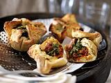 Pizza-Muffins mit Salsiccia Rezept