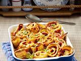 Pizza-Pfannkuchen-Auflauf Rezept