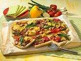 Pizza Primavera Rezept