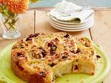 Pizza-Schnecken-Kuchen Rezept