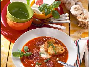 Pizza-Suppe Rezept