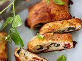 Pizzarolle mit Spinat & getrockneten Tomaten Rezept