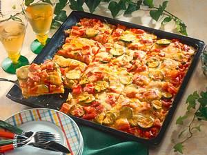 Polenta Pizza mit Französischem Gemüse Rezept