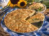 Porree-Blätterteig-Kuchen Rezept