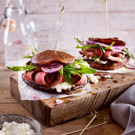 Portobello-Burger Rezept