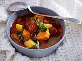 Portugiesische Kartoffelsuppe mit Chorizo Rezept