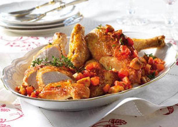 Poulet en Cocotte Soumaroff (Hähnchen im Topf Soumaroff) Rezept